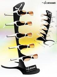 Présentoir lunettes de comptoir en métal CEBE