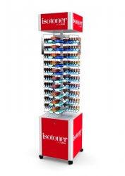 Présentoir lunettes en métal et plastique ISOTONER