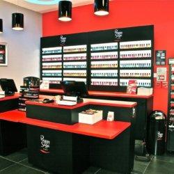 Présentoir Seiller fabricant PLV : Aménagement de magasin en métal pour magasin cosmétique Peggy sage