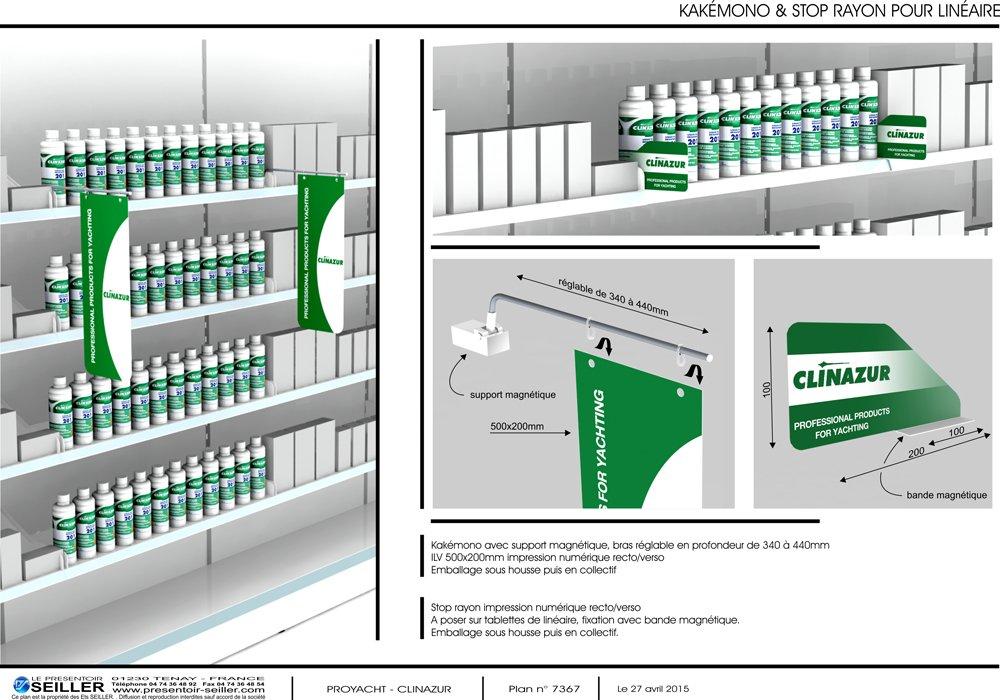 Stop rayon habillage magasin fabricant de presentoirs for Logiciel merchandising gratuit