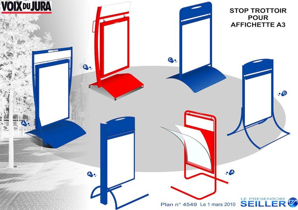 stop trottoir ilv et plv fabricant de presentoirs. Black Bedroom Furniture Sets. Home Design Ideas