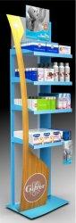 presentoir de sol en plastique pour produits pharmaceutiques COXINELIS