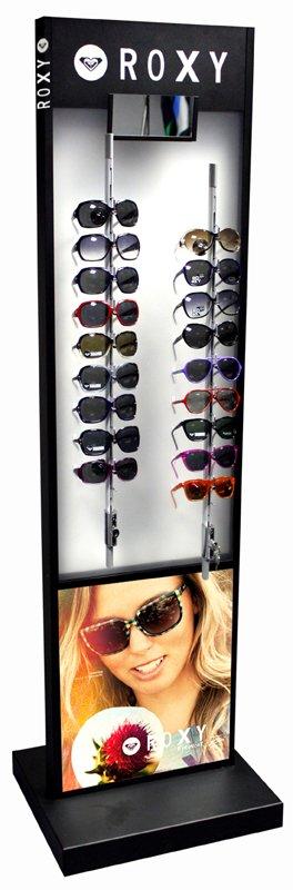 Présentoir lunettes en métal et plastique OMAREEF Roxy