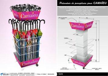 Presentoir-mode-et-textile-en-metal-pour-parapluies-SOGEMA-Camaieu