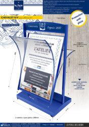 preentoir-pub-edition-carterie-en-metal-stop-trottoir-LA-PERLE-DES-DIEUX