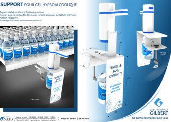 presentoir-sante-en-metal-pour-gel-hydroalcoolique-LABO-GILBERT