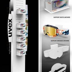 Colonne-de-presentation-masques-de-ski-UVEX